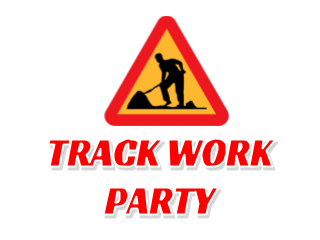 Track Work Party – May 6 – 10AM