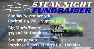 Winter Series Steak Night Fundraiser